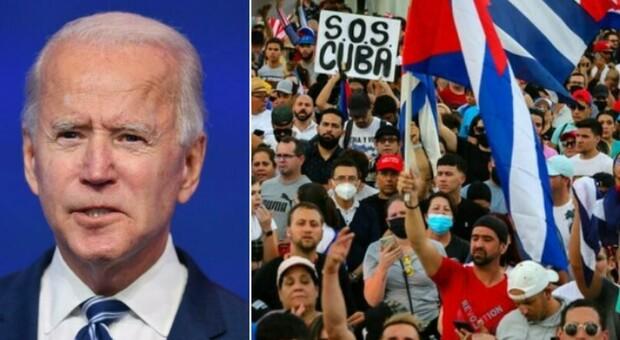 Cuba, Biden conferma restrizioni su rimesse volute da Trump: «È uno Stato in fallimento che reprime i propri cittadini»