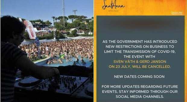 Variante Delta in Grecia, annullate le feste in spiaggia e i concerti: boom di contagi