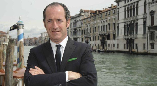 Il presidente del Veneto Luca Zaia