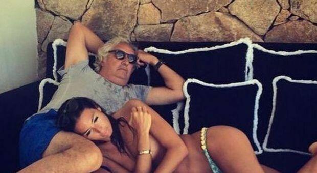 Elisabetta Gregoraci e Flavio Briatore (Instagram)