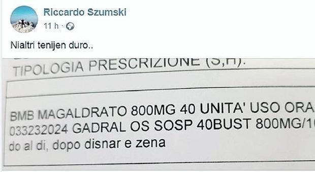 Le ricette del sindaco-medico in dialetto veneto: indagine dell'Ordine