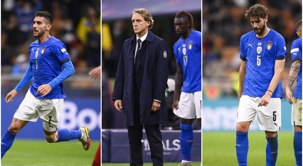 Da Pellegrini a Raspadori: le sette possibili novità di Mancini per Italia-Belgio