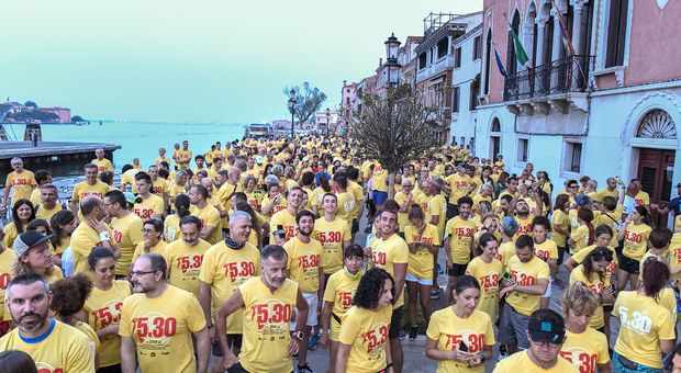 ​Run 5.30, in 1.200 all'alba di corsa per le calli di Venezia