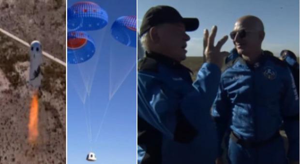 Star Trek, il capitano Kirk finalmente nello spazio: diretta del lancio di Blue Origin con l'attore di 90 anni