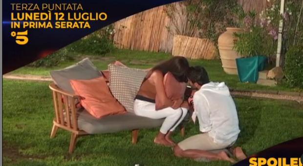 Temptation Island, anticipazioni terza puntata: i video inaspettati per Federico e il pianto a dirotto di Manuela