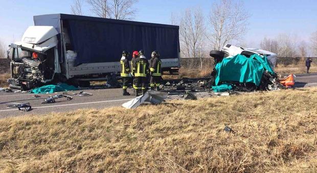 L'impietoso incidente non ha lasciato scampo ai conducenti