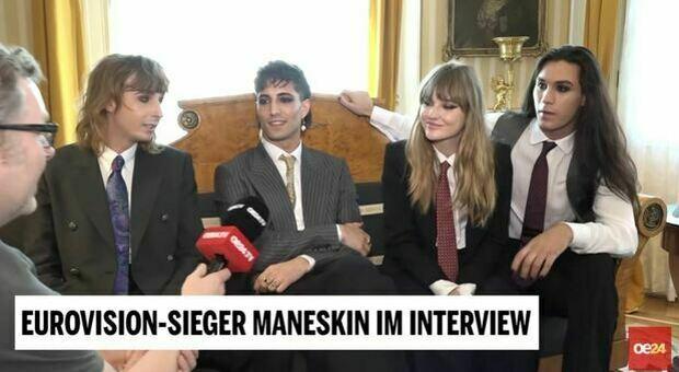 Maneskin, come hanno festeggiato la vittoria delle Nazionale? «Sesso, birre e rock'n roll?». La provoazione alla tv austriaca