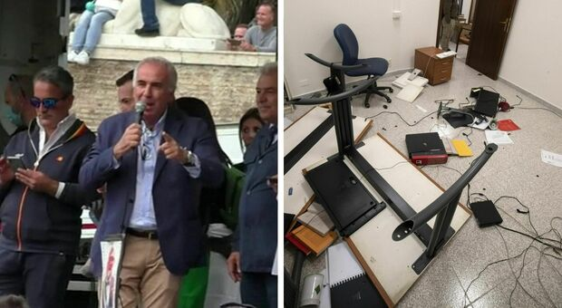 Scontri Roma No Green pass, convalidati arresti per «guerriglia urbana». Castellino diceva: «Portateci da Landini o lo prendiamo noi»