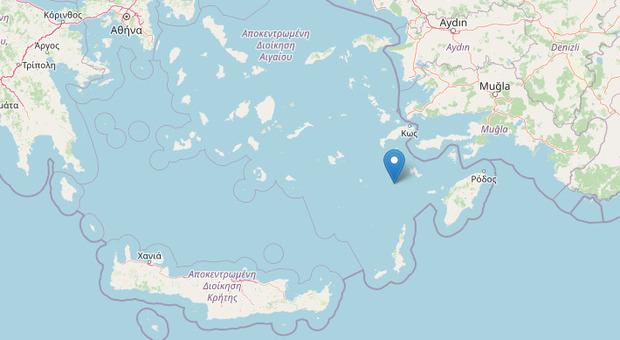Terremoto, allarme all'alba nelle isole del mar Egeo: scossa di magnitudo 5.2 avvertita anche in Turchia