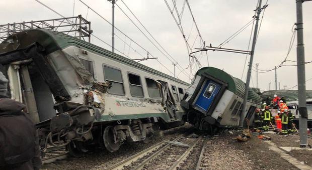 Treno deragliato 4 indagati a milano ipotesi disastro - Treno milano porta garibaldi bergamo ...