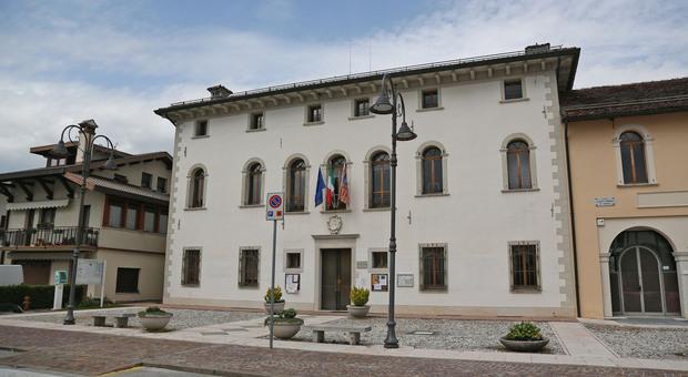 Il municipio di Limana