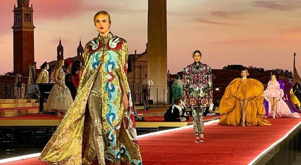 Sfilata di Dolce & Gabbana a Venezia domenica 29 agosto