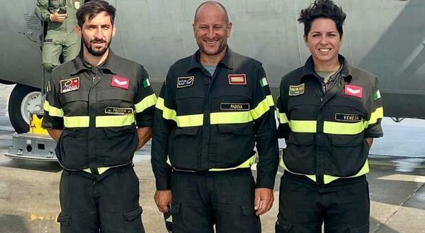 Federico Bragagnolo, Roberto Verzotto, Frida Bubola: i Vigili del fuoco intervenuti a Liegi
