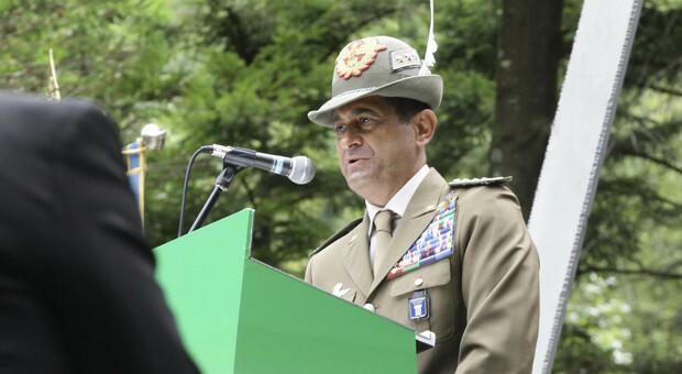 Il generale Figliuolo domenica a Cison di Valmarino