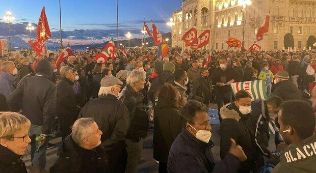 La manifestazione di oggi 13 ottobre a Trieste