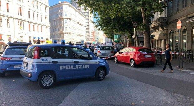 La sparatoria in centro a Trieste