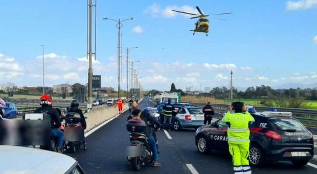 Incidente in autostrada a Brescia, morto un 55enne: al volante c'era la moglie