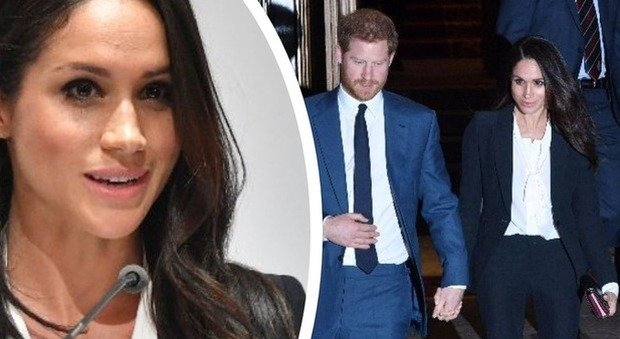 Meghan Markle supersexy, tacco 12 e caviglie nude al primo evento di beneficenza