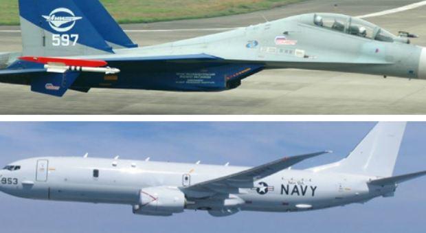 Ultimo Aereo Da Caccia Russo : Mar nero caccia russo intercetta aereo da ricognizione usa