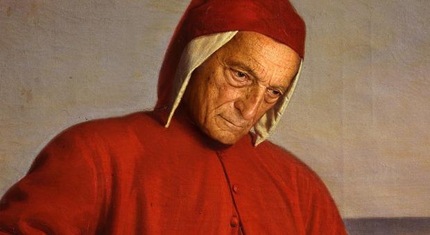 """Dante, arriva """"Divina"""" l'avatar che traduce i volti in terzine: nelle sale del percorso I colori della Giostra"""