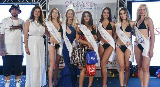 Miss Venice Beach, dominio delle ragazze padovane nella tappa di Sottomarina