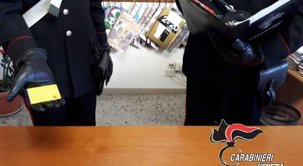 I carabinieri scovano i furbetti del reddito di cittadinanza