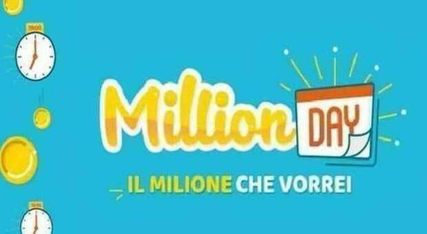 Million Day, i numeri vincenti di oggi venerdì 1 gennaio 2021