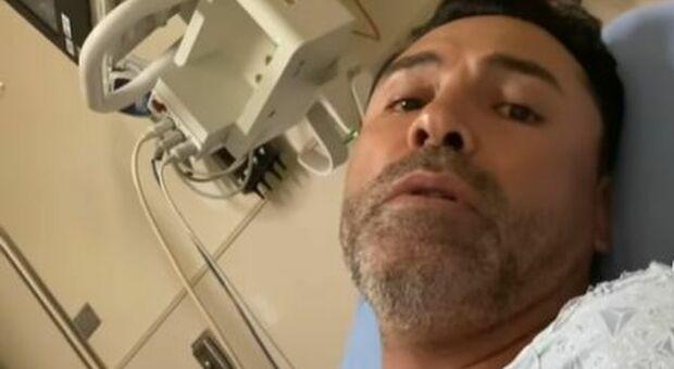 Oscar De La Hoya ricoverato per Covid: l'ex Golden Boy del pugilato (ha 48 anni) era vaccinato