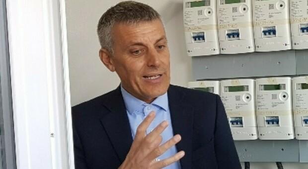 Il sindaco di Tribano, Massimo Cavazzana