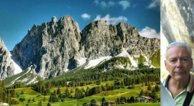 Una gita in bici a Cortina è stata fatale per Sergio Artusato