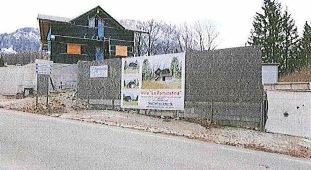 L'edificio di Ciandaries a Cortina venduto all'asta per 6milioni e 200mila euro