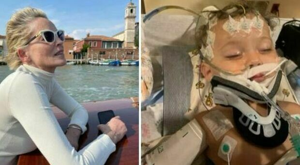 Sharon Stone, morto il nipotino River: avrebbe compiuto un anno l'8 settembre