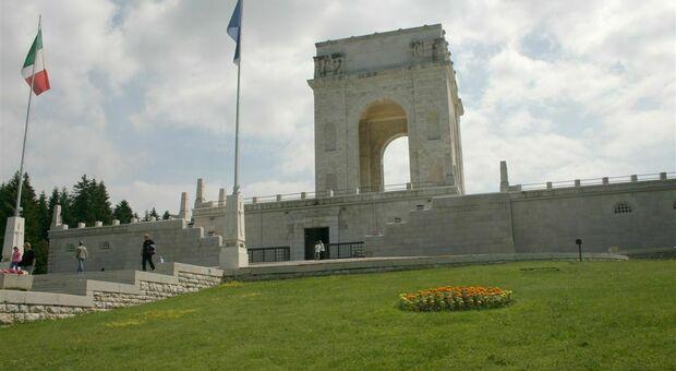 Il sacrario di Asiago fa parte dell'Alta via della Grande Guerra
