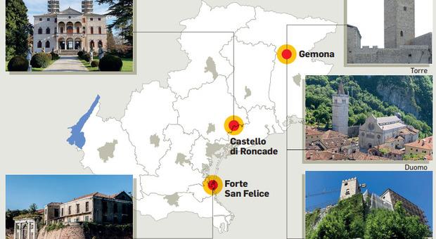 Assalto ai Castelli, cosa c'è da vedere tra Veneto e Friuli: nel weekend le giornate nazionali