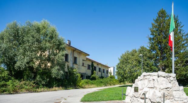 L'ex caserma Tagliamendo ad Arzene ospitava il 73° battaglione fanteria d'arresto Lombardia