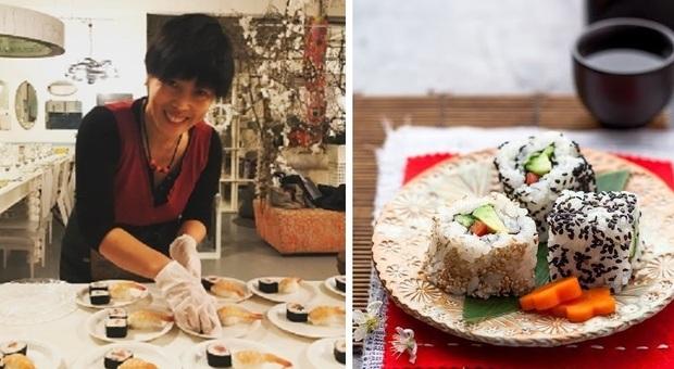 A scuola di Sushi vegetariano da Yuri: la lezione in diretta online su Zoom