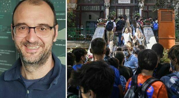 «La pandemia non sta finendo», l'epidemiologo Merler: c è l incognita scuole riaperte