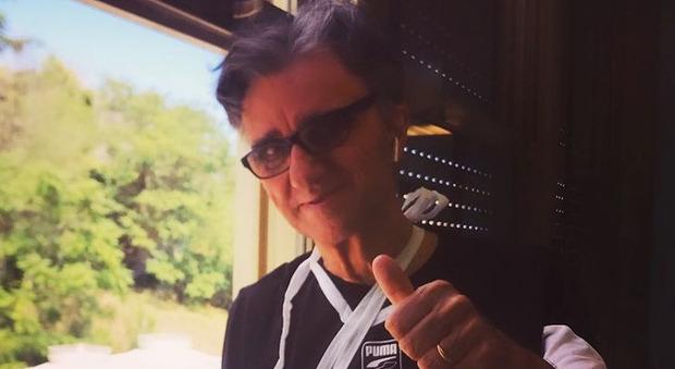 Gaetano Curreri, sollievo dopo l'infarto: «Ho sconfitto questo figlio di...». Come sta il cantante degli Stadio