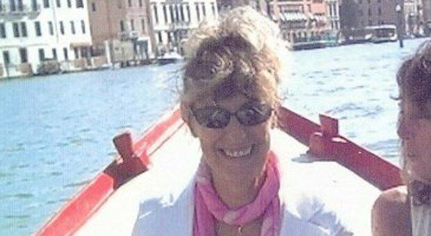 Liliana Puorro con un'amica a Venezia
