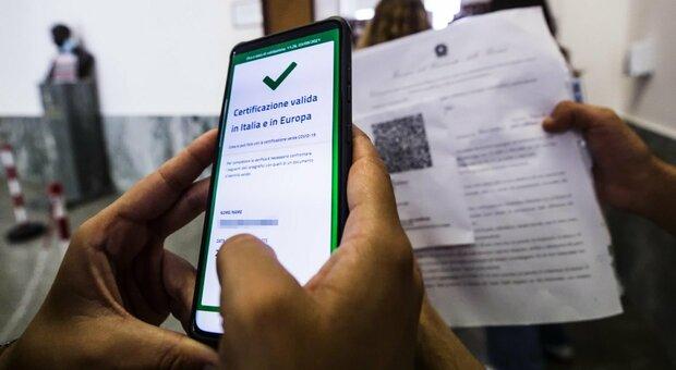 Green pass statali, stipendio sospeso a chi rifiuta
