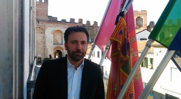Il sindaco di Cittadella, Luca Pierobon