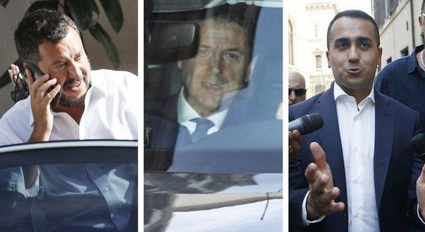 Salvini crisi si voti mi candido di maio prima for Oggi parlamento diretta
