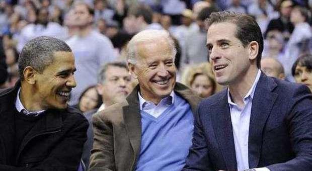 Usa, il figlio di Joe Biden positivo alla cocaina: cacciato dalla Marina