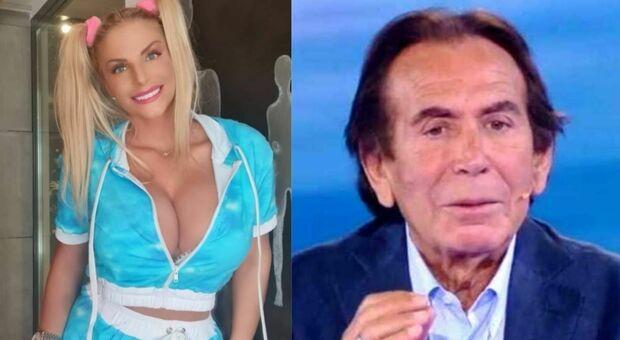 Gf Vip, Francesca Cipriani strappa i capelli a Giucas Casella: «Mi fai male!»