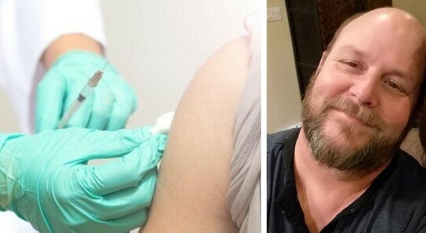 I vaccini sono «veleno», poi si contagia e muore a 54 anni. La sorella: «Non fate come lui»