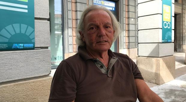Tiziano Toppan, l'anziano aggredito a San Donà la sera della finale degli Europei