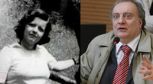 Rossella Corazzin poco prima della scomparsa e Angelo Izzo, il mostro del Circeo
