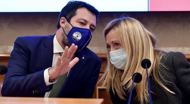 Salvini rilancia la federazione di centrodestra, ma Meloni si tira fuori: «FdI è all'opposizione del governo»