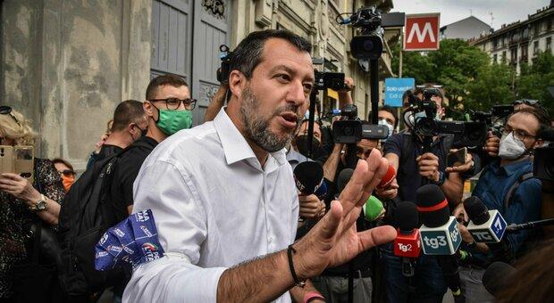 Ddl Zan, Salvini a Letta: «Vediamoci martedì per una mediazione o la legge finirà male»
