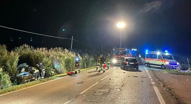 L'incidente sulla strada metropolitana 59 alle porte di Caorle
